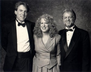 Jeff with Arif and Bette Midler