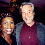 Jeff with Gladys Knight