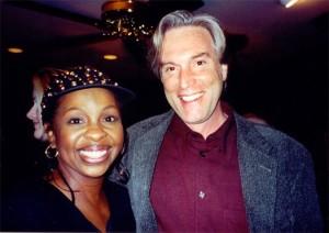 Jeff with Gladys Knight