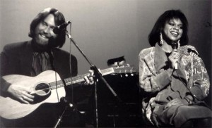 Jeff performing with Gladys Knight