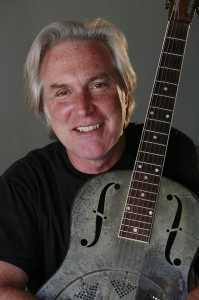 Jeff with his Steel Guitar